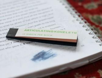 ARTICULATING KOHELETH