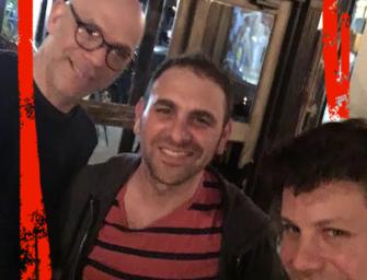 Three Jews in a Bar Discussing Death